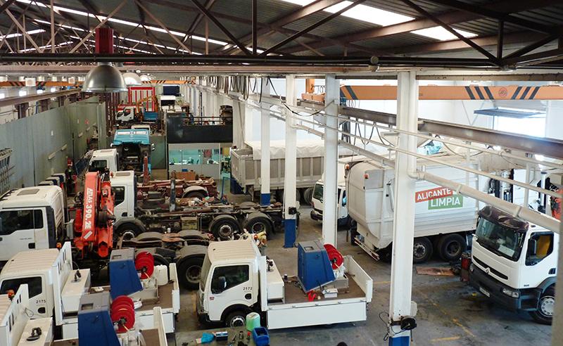 Nuestras instalaciones en Alicante.